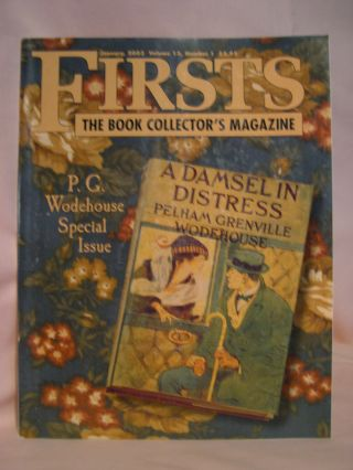 FIRSTS: COLLECTING MODERN FIRST EDITIONS; THE BOOK COLLECTOR'S MAGAZINE; OCTOBER, 2003 VOLUME...